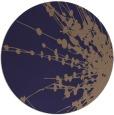 rug #316309 | round blue-violet rug