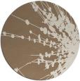 rug #316353 | round beige natural rug
