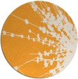 rug #316549 | round light-orange natural rug
