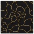 rug #318685 | square black abstract rug