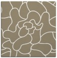 rug #318805 | square white graphic rug