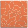 rug #318861 | square orange graphic rug
