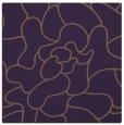 rug #318897   square purple natural rug