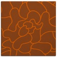 rug #318929 | square red-orange abstract rug