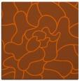 rug #318929 | square red-orange rug