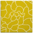 rug #318965 | square yellow abstract rug
