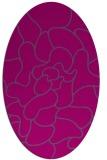rug #319048 | oval abstract rug