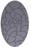 rug #319105   oval abstract rug