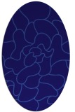 rug #319122 | oval graphic rug