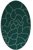 rug #319224   oval abstract rug