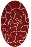 rug #319267   oval abstract rug