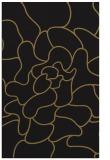 rug #319389 |  black abstract rug