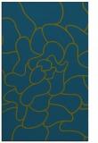 rug #319429 |  green abstract rug