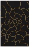 rug #319485 |  black abstract rug