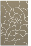 rug #319509 |  mid-brown abstract rug