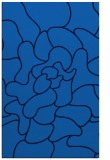 rug #319537 |  blue graphic rug
