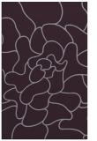 rug #319605 |  purple abstract rug