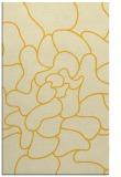 rug #319657 |  yellow graphic rug