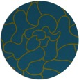 rug #319781   round blue-green graphic rug