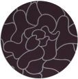 rug #319957 | round purple abstract rug