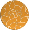 rug #320069 | round white abstract rug
