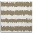 rug #324085 | square mid-brown stripes rug