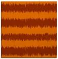 rug #324201 | square red-orange stripes rug
