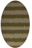 rug #324418   oval stripes rug