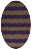 rug #324530   oval stripes rug