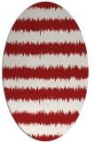rug #324546   oval stripes rug