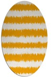 rug #324633 | oval light-orange popular rug