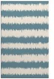 rug #324673 |  blue-green stripes rug