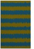 rug #324709 |  green stripes rug