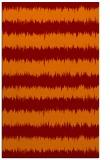 rug #324837 |  orange stripes rug