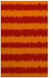 rug #324893 |  orange stripes rug