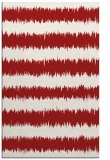 rug #324897 |  red stripes rug