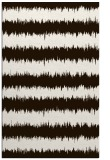 rug #324945 |  brown stripes rug