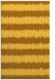 rug #324953 |  yellow stripes rug