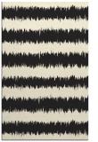 rug #324957 |  black stripes rug