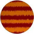 rug #325189 | round red-orange popular rug