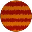 rug #325245 | round red popular rug