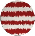 rug #325249 | round red stripes rug