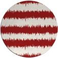 rug #325250   round stripes rug