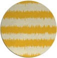 rug #325289   round yellow stripes rug