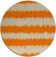 rug #325317 | round orange rug