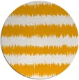rug #325337 | round light-orange stripes rug