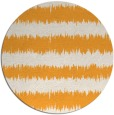 rug #325349 | round white stripes rug