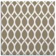 rug #327465 | square white geometry rug