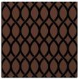 rug #327481 | square black circles rug
