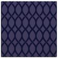 rug #327549   square blue-violet circles rug